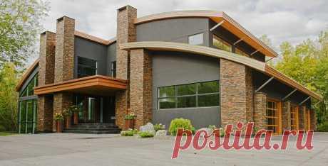 Лучшие материалы для отделки фасада частного дома