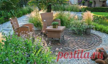 Современный, классический, романтический … щебень и гравий в вашем саду | 6 соток