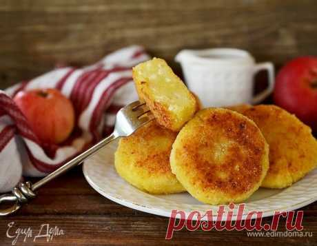 Яблочные сырники, пошаговый рецепт на 1462 ккал, фото, ингредиенты - mizuko