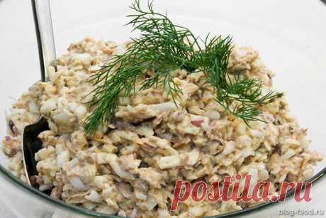 Saury salad   Blog-food   Yandex Zen