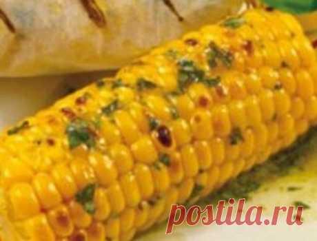 Запеченная кукуруза | Кулинарные рецепты от «Едим дома!»