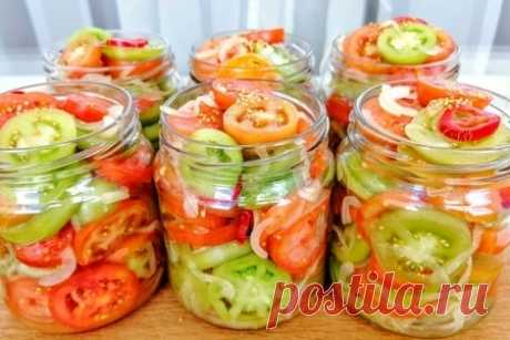 Зеленые помидоры на зиму – рецепт с фото