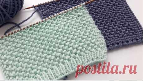 Красивый и простой узор (Вязание спицами) – Журнал Вдохновение Рукодельницы