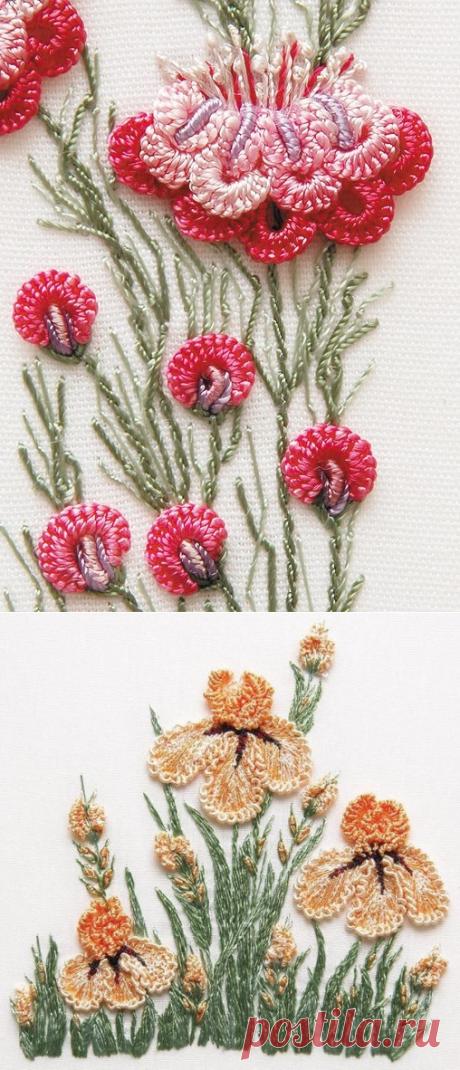 Роскошные идеи вышивки в стиле рококо — Сделай сам, идеи для творчества - DIY Ideas