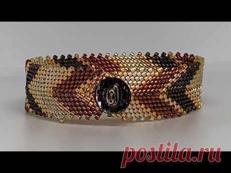 Beaded Bracelet 💎 #beadingtutorial #diy