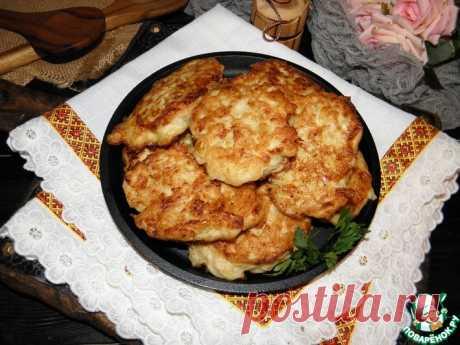 Картофельно-куриные оладьи с сыром Кулинарный рецепт