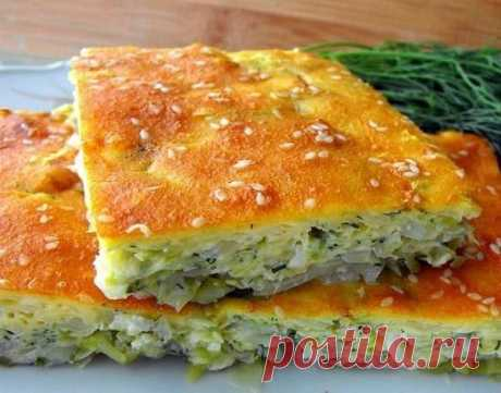 Fast cabbage pie on kefir | Tasty recipes
