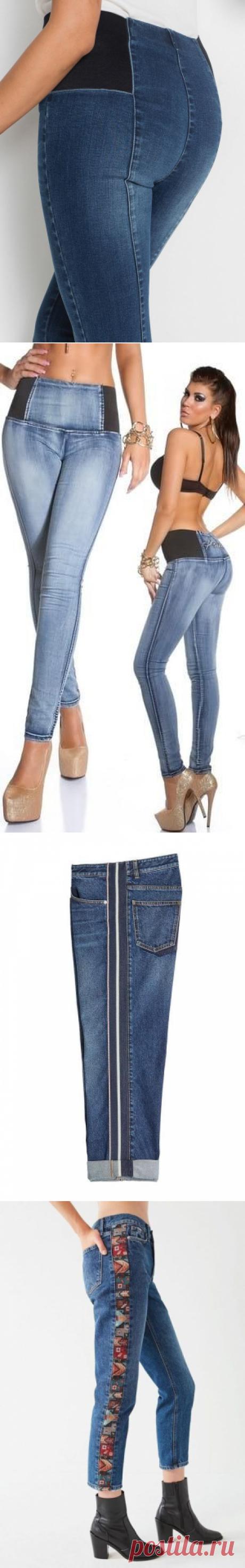 Стали малы джинсы - не беда! 6 советов, как расставить брюки!   Юлия Жданова   Яндекс Дзен