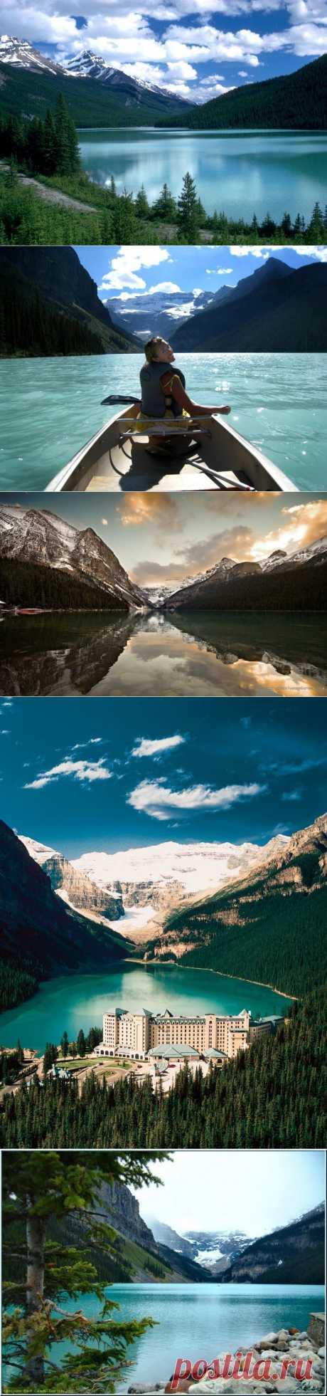 Ледниковое озеро с женским именем / Туристический спутник