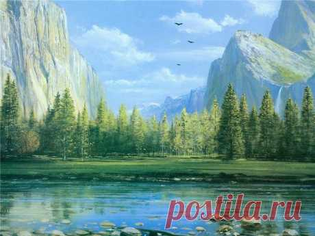 Творчество современного художника Питер Элленшоу
