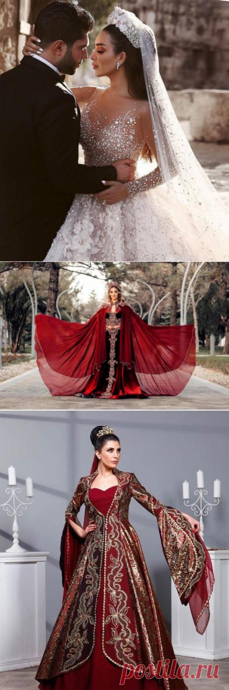 Свадебные наряды в Турции: традиционные и современные платья, которые выбирают для себя невесты