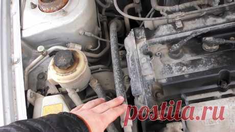 Как безопасно и качественно помыть двигатель своими руками Моторный отсек загрязняется пылью, грязью с дорог, насекомыми, а также подтеками масла, охлаждающей и технических жидкостей. Мотор покрывается как-бы коконом с низкой теплопроводностью, что ведет к его перегреву. При разогреве масла снижается вязкость, вызывающая быстрый износ деталей. Масляные