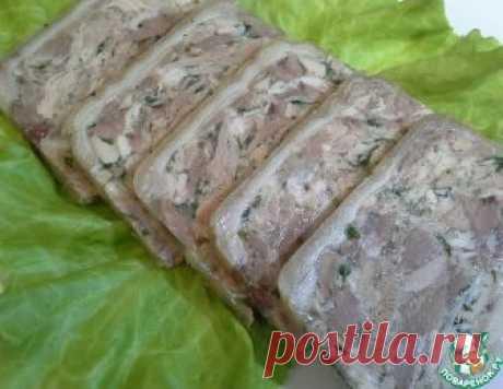 Сальтисон из свинины и курицы – кулинарный рецепт