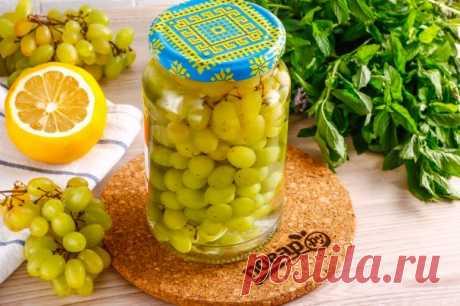 Консервированный виноград гроздьями - пошаговый рецепт с фото на Повар.ру