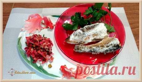 Как приготовить рыбу в сметане красноперку или карасей вкусно