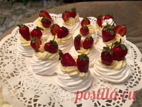 Пирожные «Павлова»