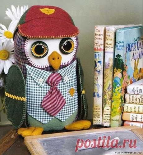 ¿No queréis coser prikolnogo sovenka? Mucho él es parecido al botánico). El patrón.