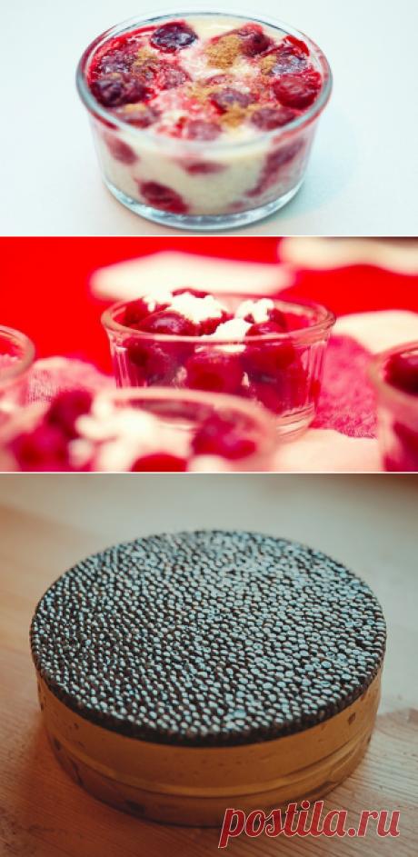 Как приготовить ванильный клафути с вишней - рецепт, ингредиенты и фотографии