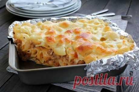 Лазанья из макарон — Sloosh – кулинарные рецепты