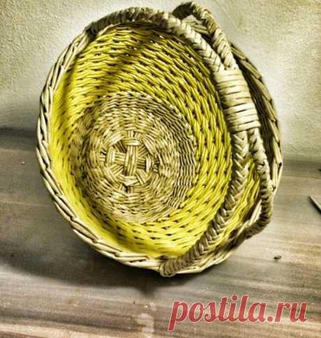 Плетение из газетных трубочек для начинающих - пошаговая инструкция, новые фото идеи