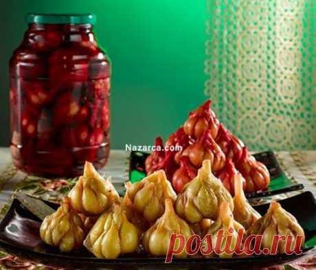 Дома чеснок, готовить маринованный чеснок и преимущества чудо   Nazarca.com