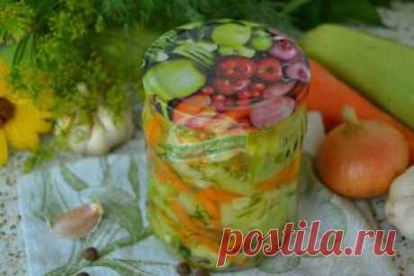 Рагу из кабачков на зиму без стерилизации: рецепт с фото пошагово