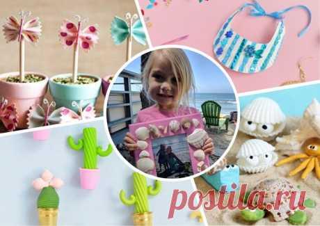 Лето своими руками: идеи детских поделок из Инстаграма – на бэби.ру!