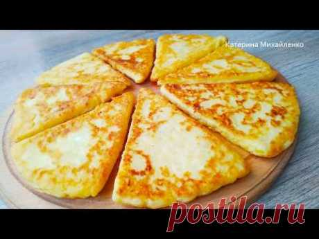 Лепешки - Объедение!!! Жаль, не готовила так раньше! Potato tortillas with cottage cheese