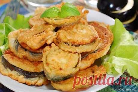 Рецепт баклажанов в кляре - просто и очень вкусно