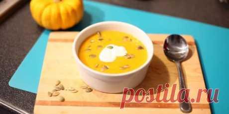 10 тыквенных супов с ярким цветом, вкусом и ароматом. Очень простые и безумно вкусные.