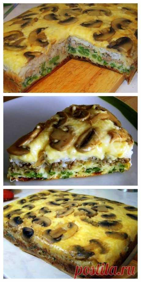 Восхитительный слоеный пирог «Перевертыш», который можно готовить хоть каждый день