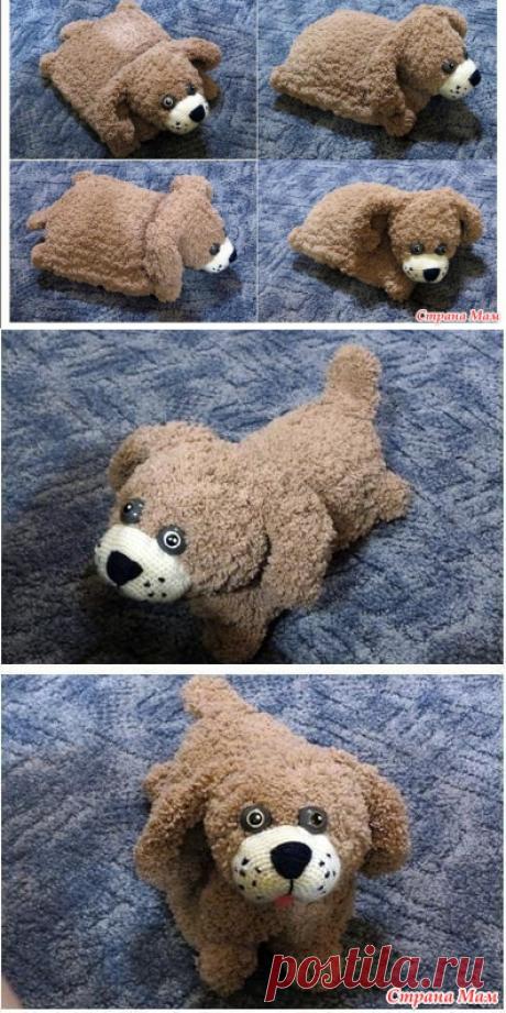 Собака - символ 2018 года - Вязание - Страна Мам