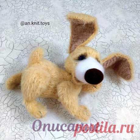 Собака Бусик амигуруми. Схемы и описания для вязания игрушек крючком! Бесплатный мастер-класс от Анастасии @an.knit.toys по вязанию собаки по имени Бусик. Для изготовления вязаной крючком игрушки автор использовал пряжу…