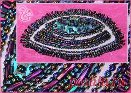 Образец. Брошь. Кожа, бисер, стеклярус, рубка, пайетки, фурнитура.  #брошь #handmade #ручнаяработа #подарки #украшения #сделаноруками #авторскиеукрашения #мояработа #бижутерия #аксессуары #бисер #стеклярус  #пайетки #девушки #handcrafted #fashion #jewellery #bijouterie #beadwork #art #mywork #beautiful  #bead #leather #brooch #прокат #продажа #подзаказ