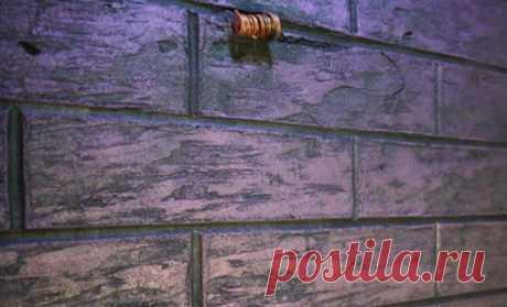 Шикарный самодельный  кирпич из плиточного клея: самый дешевый способ