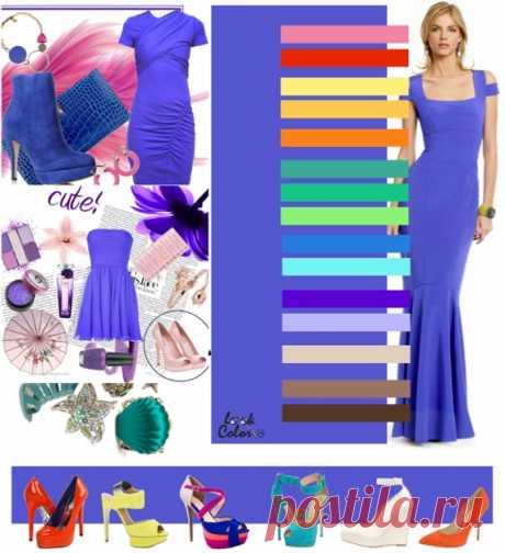 ЯРКО-СИРЕНЕВЫЙ цвет (правильное сочетание цветов в одежде)  Сочетайте ярко-сиреневый цвет с розовым, ярко-красным, солнечно-желтым, абрикосовым, ярко-оранжевым, бирюзово-зеленым, ярко-зеленым, цветом шартез, синим виола, лазурно-голубым, ярким пурпуром, бледно-сиреневым, светло-бежевым, светло-коричневым, коричневым