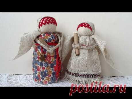 АНГЕЛ ВДОХНОВЕНИЯ. Мастер-класс по тряпичной кукле