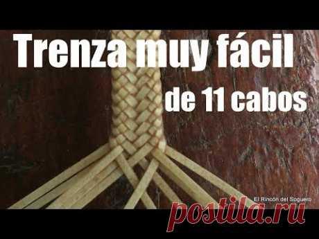 """Trenza chata de 11 cabos """"El Rincón del Soguero"""""""