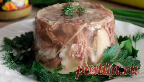Холодец из индейки и свиной рульки | Fresh-Recipes