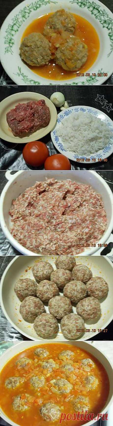 Замечательный рецепт мясных Ежиков!