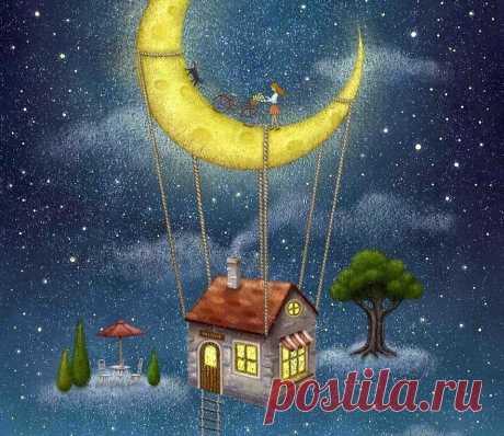 Маленькая сказка С каждым пусть случится, И мечта большая, Вдруг осуществится! Ангелов Вам ко сну.