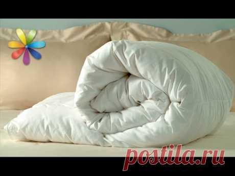 Заправляем одеяло за 30 секунд! - Сам себе мастер - медиаплатформа МирТесен