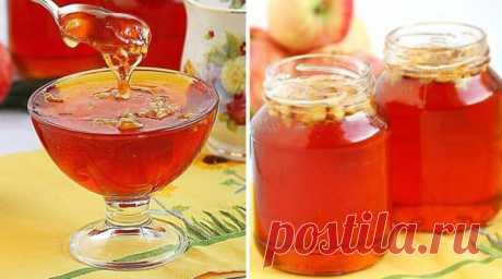 Болгарское яблочное желе-варенье как мед - Бабушкины секреты