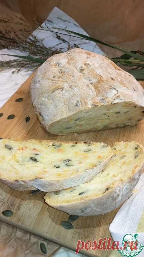 Домашний хлеб с тыквой – кулинарный рецепт