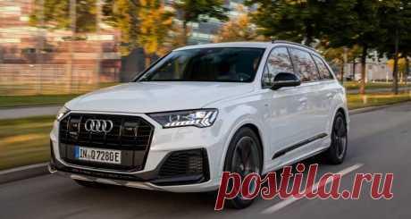 Подзаряжаемый от розетки гибрид Audi Q7 TFSI e 2020