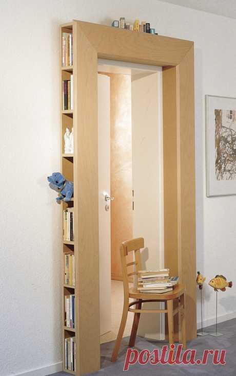 Дверная библиотека (diy) Модная одежда и дизайн интерьера своими руками