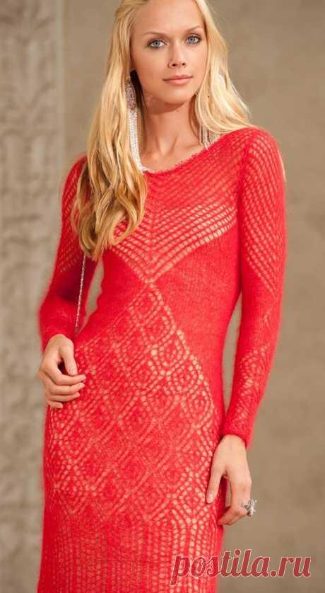 Платье шетландскими кружевами от Олеси Данилюк