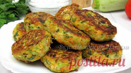 Готовлю вкусные овощные котлеты из кабачков (делюсь простым и бюджетным рецептом) | Вкусные идеи от Натали | Яндекс Дзен
