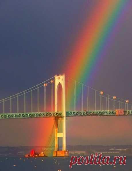 Невероятная радуга.