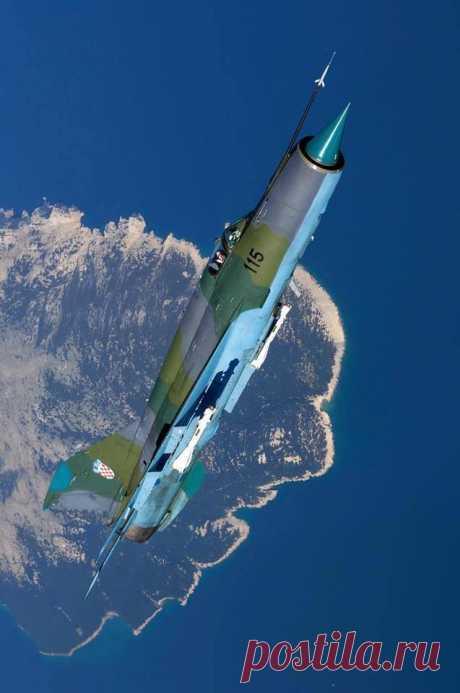 Croatian MiG-21 |АВИАЦИЯ